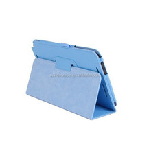 folio stand flip pu leather tablet case for asus tablet