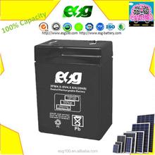 UPS Battery 6v 4.5ah Rechargeable battery , Maintance free solar battery