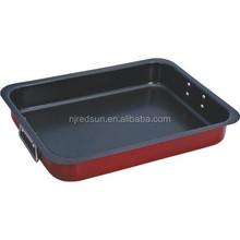 High quality beef baking pan/non-stick flat bakeware/rectangular