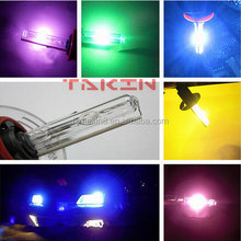 Auto xenon hid kit xenon double hid kit hid xenon lights green purple pink yellow white