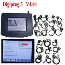 2015 Newest version Odometer Programmer Digiprog III V4.94 Multi language Digiprog 3 with all adapter Digiprog3 Full Set