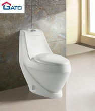 Chaozhou bathroom ceramic one-Piece Washdown WC Toilet SGS/COC toilet A5011
