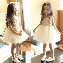 YD2006 2016 summer gauze dress sleeveless dresses of the girls lovely princess dress wholesale