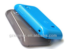 cheap glossy tpu case for xperia tipo st21i