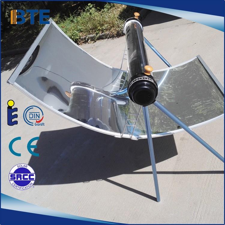 Produtos mais vendidos 2017 tipo de tubo de vácuo portátil fogão solar parabólico