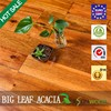 Large Leaf Acacia Solid Flooring & surface: smooth or handsraped
