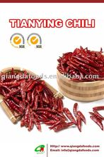 the price of tianying hot red chilli pods variety of chili pod