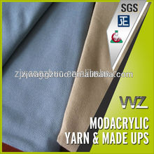 Modacrylic flame resistance airline blankets fabric far 25.853 Airline blanket fire restardant