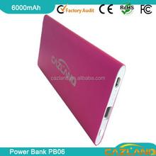 2015 new sanyo battery power bank tomo power bank unique power bank