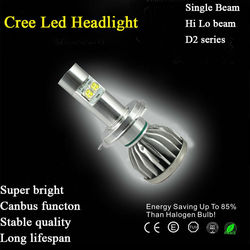 Car Led Headlight 2 years warranty car H4 H13 9004 9007 H11 9005 9006 H7 LED headlight with Canbus Function