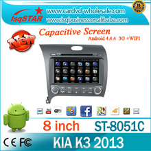 In dash android multimedia car DVD player with Navigation for KIA CERATO 2013