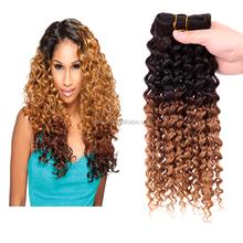 5A grade micro loop 1g jerry curly human hair weft,100% virgin Brazilian hair weaving,hair extension