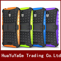 Hybird Armor TPU+PC Kickstand phone cases cover for Motorola Moto X Force/Droid Turbo 2