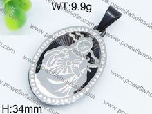 Noble fashion design stainless steel pendant talisman