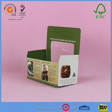 Top Sale Colorful Box Cupcake With Professional Supplier