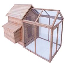 2015 Wooden chicken coop/Chicken Coop /Chicken house With Big Run Cage