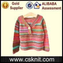 Niños multifuncionales mano suéteres de punto suéteres infantiles con alta calidad