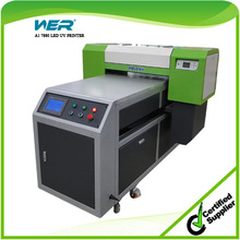 8 color 600 * 1500 mm size 15 cm thick ball screw and LCD panel equipped digital uv printer