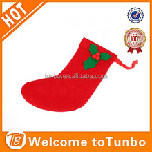 2015 Popular design christmas gift Christmas stocking