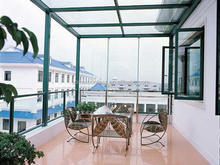 tempered glass house,glass pool fence