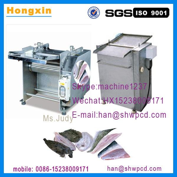 Automatic stainless steel squid fish skinner machine for Fish skinner machine