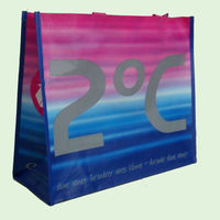 2014 new style promotional and gift non-woven tote bags