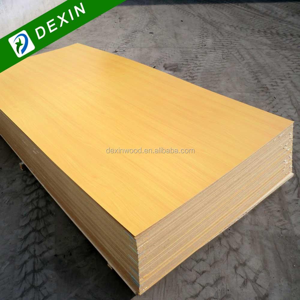 Construction Grade Particle Board ~ Furniture grade melamine board mdf or