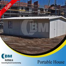 Steel frame kit home sandwish panel prefabricated house