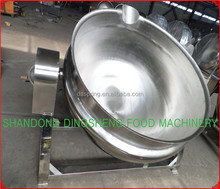 beef cooking jacketed kettle