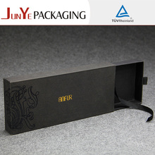 New products fancy beauty cardboard gift packaging small sliding drawer paper box