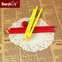 2015 high quality school yellow soft color pencil for gift