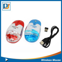 USB Optical Wired Mouse Liquid USB Computer Mouse 3D Opitical Mouse