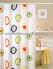 100 % polyester showe curtain design 2012