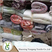 High quality Low Price Cheap Price burn out sheer fabric textile stocklot