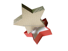 Christmas gifts paper box fold paper package promote paper package box for Christmas gifts with logo printing