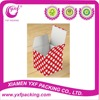 2015 Hot Sale White and Red Polka Dot Party Favor Boxes