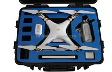 Rugged Military Spec Grade Waterproof Heavy Duty Carrying Case with Foam for DJI Phantom 3 Quadcopter Drones,