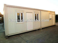 Steel frame container house with Eps