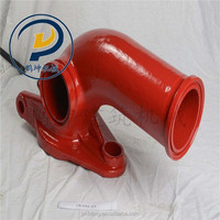 XCMG double wall concrete pump pipe hinge chain elbow