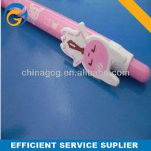 Hot Selling Customized Cartoon Animal Stylus Plastic Ball Pen