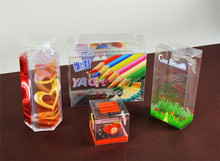 free samples for eco-friendly custom printing translucent plastic foldable frost pp box