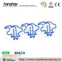 Blue color paper clip animal paper clip supplier eco-friend paper clip