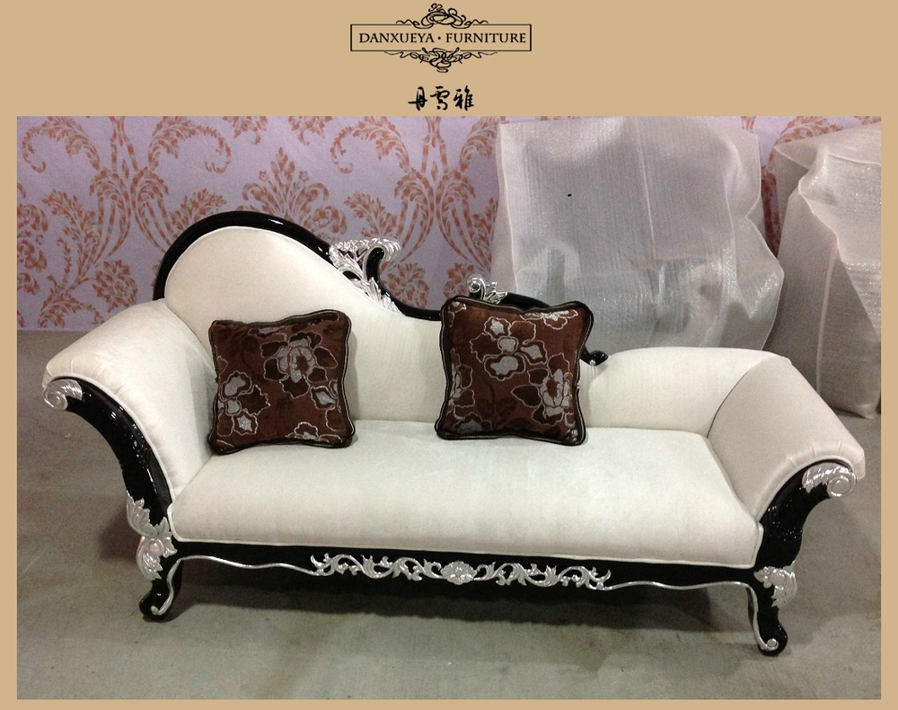 solid wood frame throne sofa classical sectional sofa