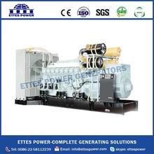 1800kw Mitsubishi Diesel Engine Generator Set