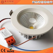 4inch led lighting CRI>75 cob 10w 1000lm 3 years warranty high power cree led downlight