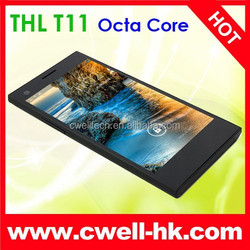 In Stock Best Mobile Phone 5.0 Inch Screen THL T11 Android 4.2 Double Cameras 5MP 8.0MP Camera MTK6592 Octa Core THL Smartphone