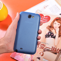 Ultra thin PP material Hard Cover Case for Samsung galaxy note 2