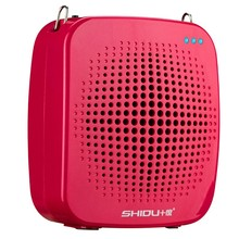 Super high power 15W portable voice amplifier support AUX audio input 15 hours long working time portable voice amplifier