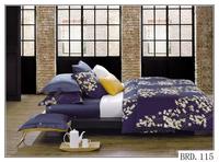 Luxury wedding bed linen set king size 100% cotton fabric comforter set king size 3d printed bed sheet bedding sets wholesale