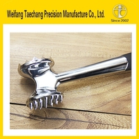 Lost wax precision casting qualified supplier Stainless Steel meat tenderizer tool Vendor of Shandong